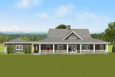 Plan 28905jj Flexible Country House Plan With Basement Basement House Plans Ranch Style House Plans Ranch House Plans