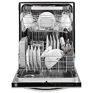 Kenmore 14573 24 Dishwasher With Third Rack And Powerwave Spray