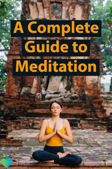 Learn everything you need to know about #meditation. #HealthandFitness #Yoga #HealthTips #Stretching - Deal With Stress ideas #DealWithStress
