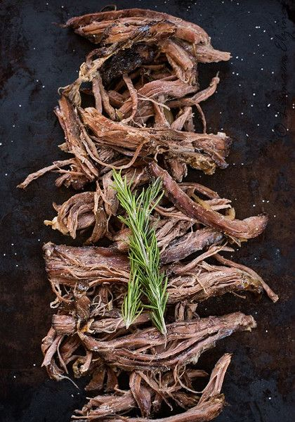 Slow Cooker Garlic Cumin Skirt or Flank Steak - Sweet Heat from Morocco: Recipes with Moroccan Spices - Photos