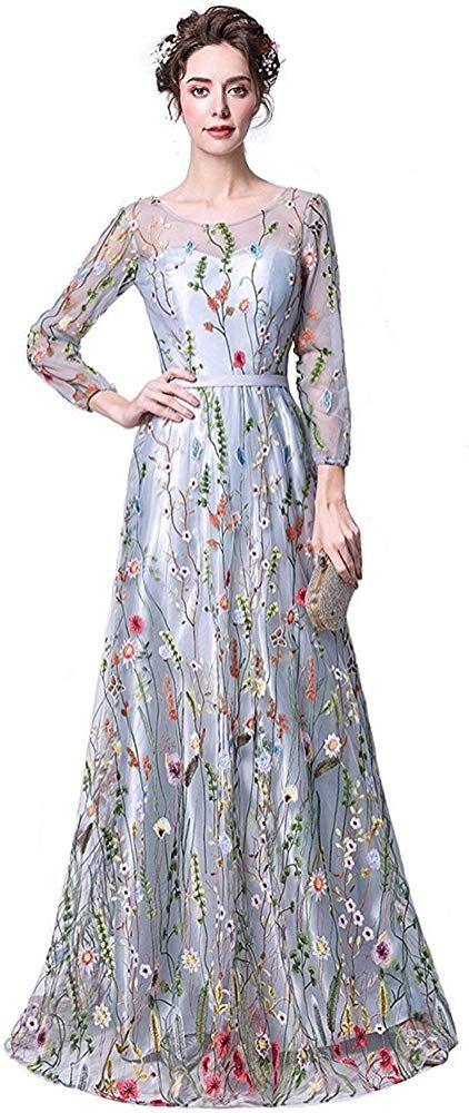Ex Store Ladies Mesh Floral Pattern Maxi Skirt