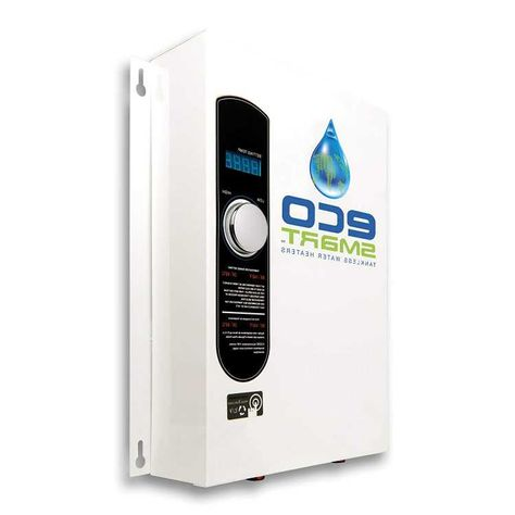 ecosmart eco 18 electric tankless water heater 18 kw at 240 volts
