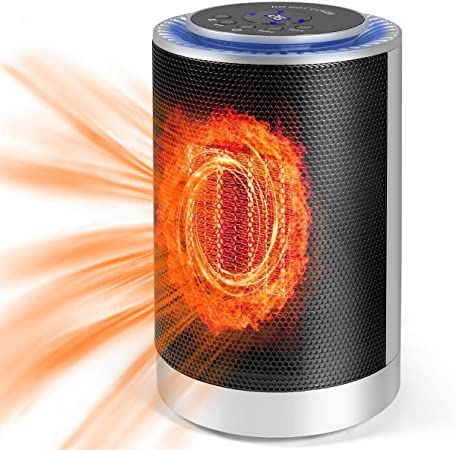 Space Heater 1200w Electric Heater For Indoor Bedroom Camping Widespread Oscillation Ceramic Heater Por Portable Heater Space Heater Portable Space Heater Best space heater for bedroom