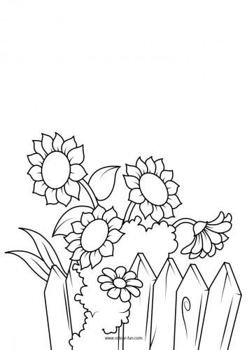 Flower Colouring Pages 4 Flower Coloring Pages Coloring Pages