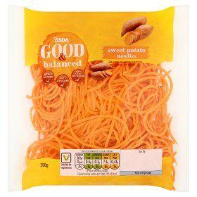 Asda Good Balanced Sweet Potato Noodles Sweet Potato