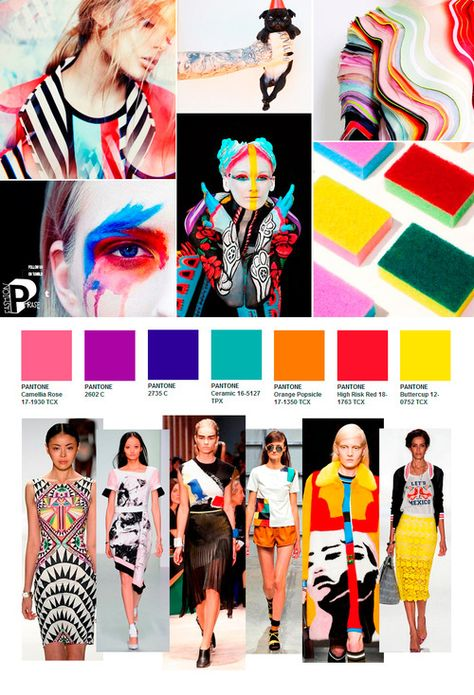 SS Color Trend Follow us on Pinterest and tumblr ~ FashionPhrase