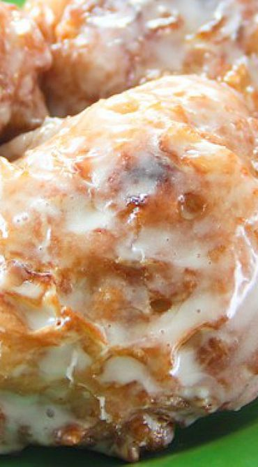 Glazed Apple Fritters More