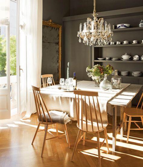 La silla Windsor: llena de historia | Lamparas para comedor ...