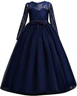 Amazon Com Girls Dresses 13 14 Years In 2020 Girls Fancy Dresses Girls Dresses Gowns