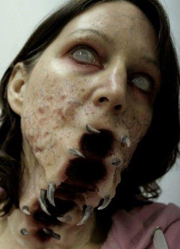 Cool Halloween makeup | Horror makeup | Pinterest | Halloween ...