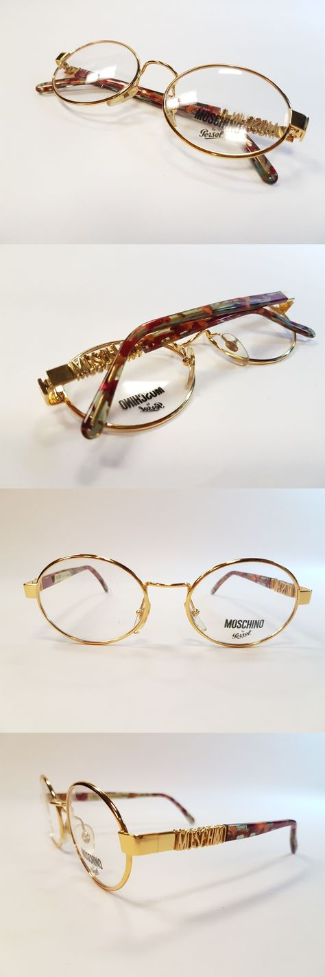 78e26a18caa26 Sunglasses 48559  Moschino By Persol Vintage Eyeglasses Mm523 90S Collection  Unique Rare New Nos -