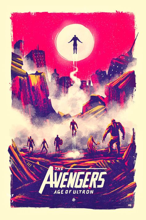 Follow the Superheroes With Avengers Fan Art