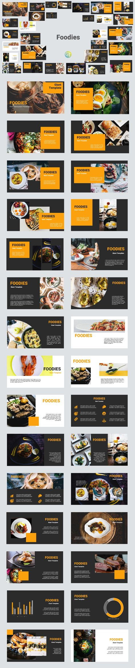Free Download Restaurant Template PTT
