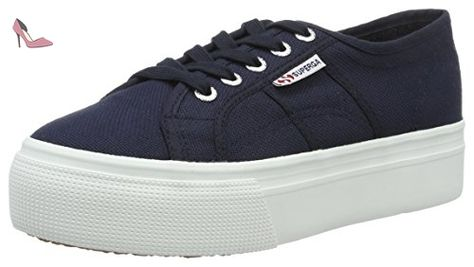 2790 Platform Sneaker In Navy. 2790 Baskets Plate-forme Marine. - Size 7.5 (also In 10,6,6.5,7,8,8.5,9,9.5) Superga - Taille 7.5 (également 10,6,6.5,7,8,8.5,9,9.5) Superga