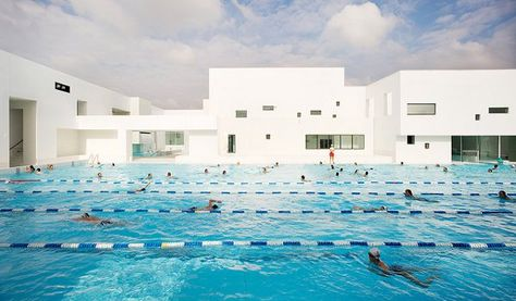 Captivating Les Bains Des Docks Is An Aquatic Centre In Le Havre, France, Designed By  French Architect Jean Nouvel. | Water And Architecture | Pinterest |  Architects, ...