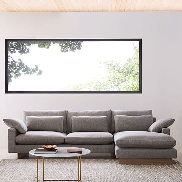 Harmony 2 Piece Chaise Sectional Sectional West Elm Living Room
