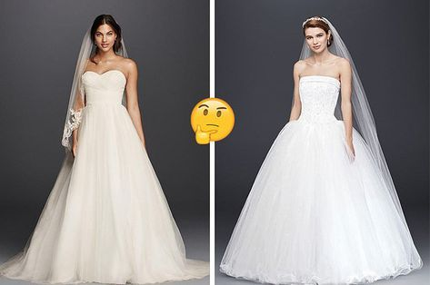 Choose Between Wedding Dresses And We Ll Reveal What Age You Ll Get Married At Wedding Dress Quiz Dress Quizzes Fashion Quizzes