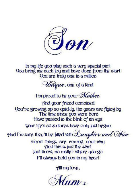 Son Birthday Quotes From Mom Sohn Geburtstag Zitate Von Mutter Fils D Anniversaire Citations De Maman In 2020 Son Quotes From Mom Son Quotes Son Birthday Quotes
