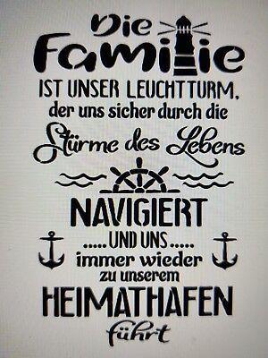 Shabby Schablone Mobel Wand Stoff Farbe Holz Schild Spruch Freunde Sterne Zitat Eur 8 50 In 2020 Spruche Willkommen Zitate Lettering