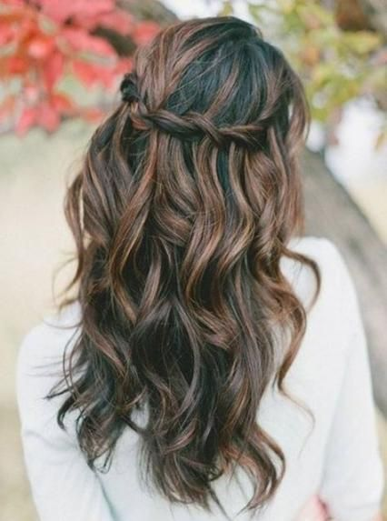 27 Ideas Hairstyles For Medium Length Hair Prom Hairdos Hair Hairstyles Medium Hair Styles Curly Prom Hair Stylish Hair