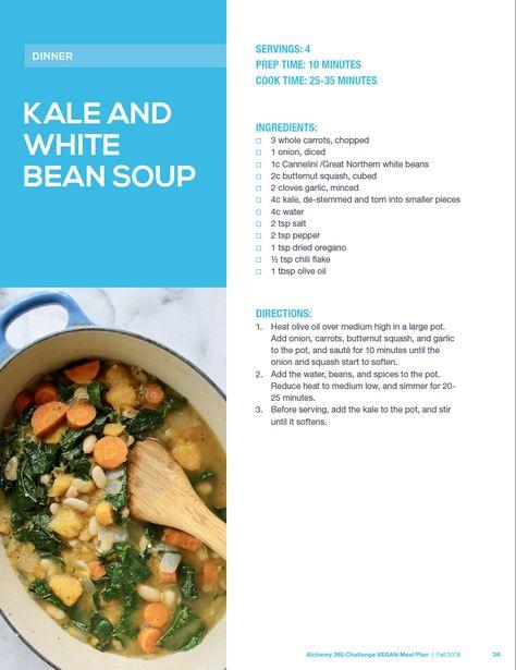 Alchemy 365 Fall Meal Plan #2: Vegan