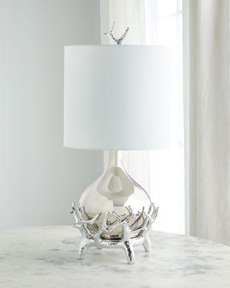 Global Views Sprig Table Lamp Table Lamp Lamp Mini Lamp