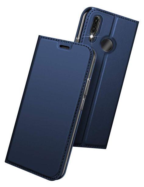 more photos 1734d 8df69 Amazon.com: Huawei P20 Lite Case KumWum Leather Case Slim Shockproof ...
