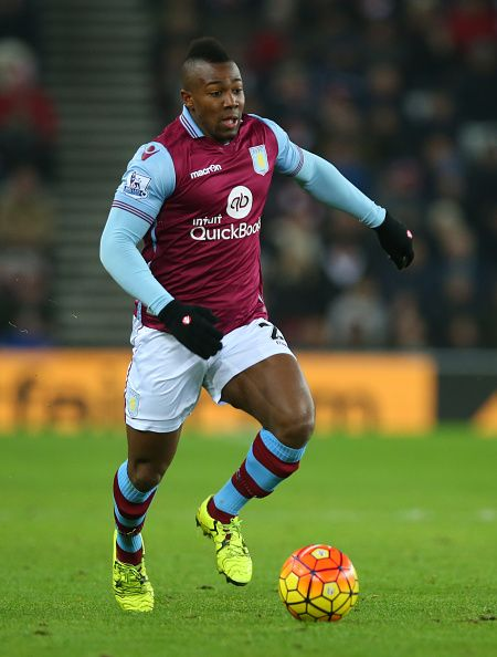 Adama Traore Of Aston Villa Controls The Ball During The Match Between Sunderland And Aston Villa At The Stadium Of Light On Janua Aston Villa Villa Sunderland