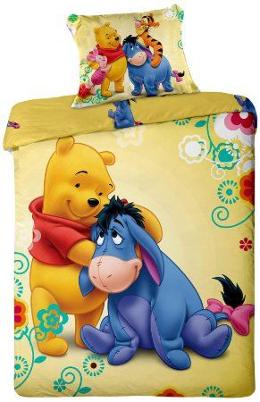 Disney Parure De Lit Winnie L Ourson Bourriquet Tigrou Disney