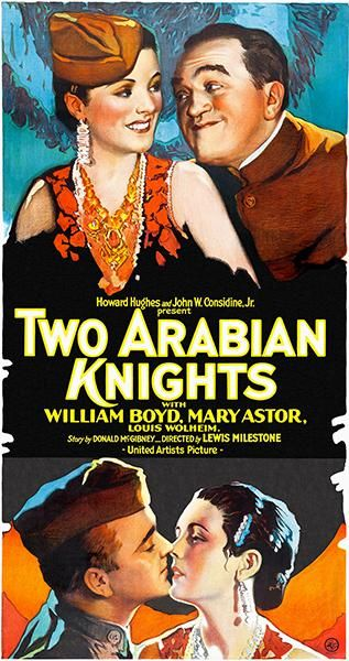 Two Arabian Knights - 1927 - Movie Poster | Film posters vintage ...