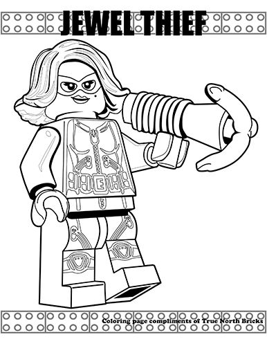 Minifigures Series Lego Coloring Pages Coloring Pages Lego