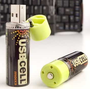 Aa Rechargable Battery With Usb 4 Usb Usb Rechargeable Usb Flash Drive