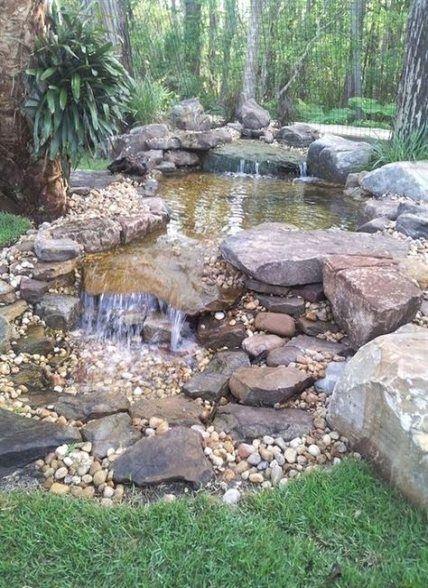 Backyard Waterfall Diy Beautiful 59 Super Ideas Diy Backyard