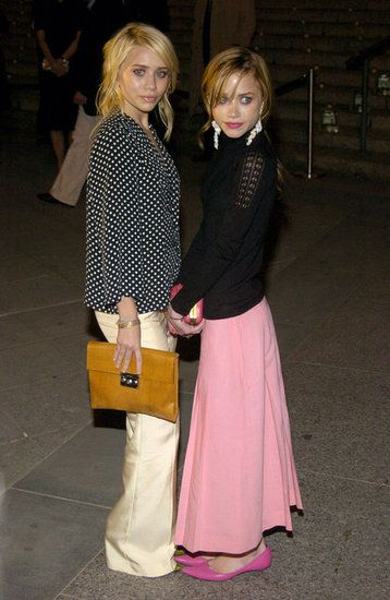 Ashley Olsen and Mary-Kate Olsen posed together at the third annual Tribeca Film Festival Vanity Fair party in May