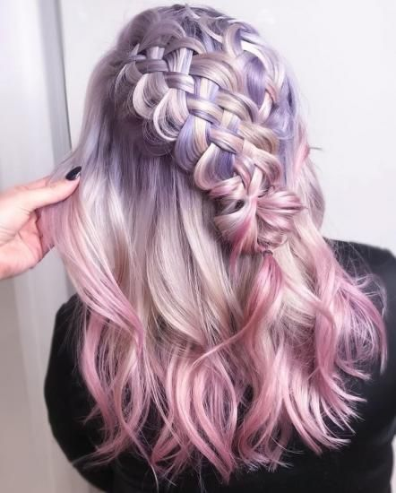 50 Mermaid Hair Style Color Ideas Hair Tutorials Hair Styles Hair Color Pastel Pastel Hair