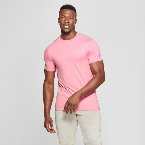 05dca5fd The Men's Performance Short Sleeve Tech T-Shirt from C9 Champion is your  new go-to for both your toughest workout and your rest days. Featuring a  crew neck ...