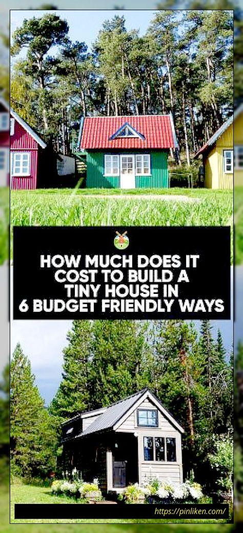 Wie viel kostet es, ein kleines Haus zu bauen? Wie viel