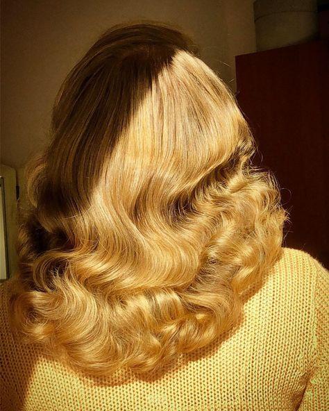 Hair Dos, Your Hair, Aesthetic Hair, Hair Affair, Retro Hairstyles, Hair Inspiration, Curly Hair Styles, Hair Makeup, Hair Beauty