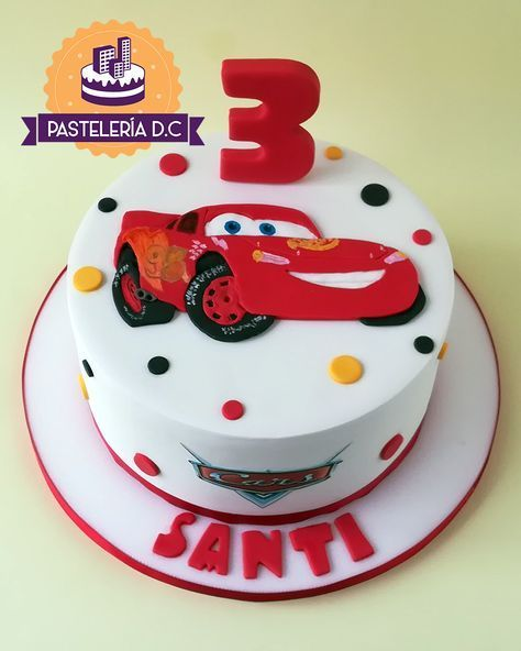 New Simple Cars Cake Lightning Mcqueen 48 Ideas Cars Birthday Cake Simple Birthday Cake Lightening Mcqueen Birthday Cake
