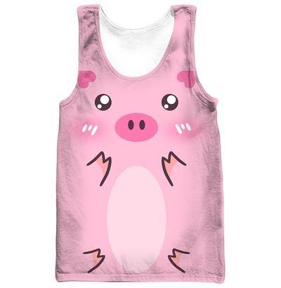51729870dcab I Love Pig Cute 3D Printed T-Shirt Zipper Hoodie Tank Top Shop For Sale