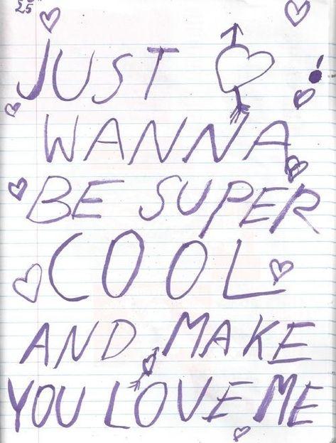 pinterest : .* (◠‿◠) @ᴛᴏɴɪᴀkɪɴʙᴀ .* — Just wanna be super cool and make you love me💘.
