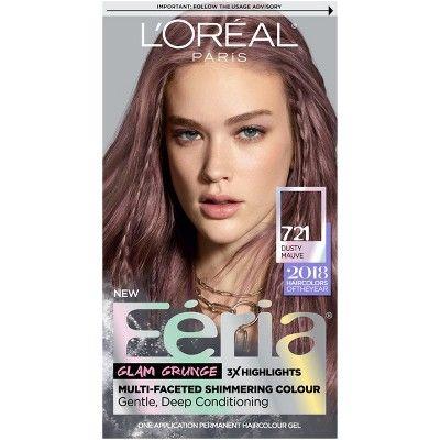 L Oreal Paris Feria Permanent Hair Color 721 Dusty Mauve Feria