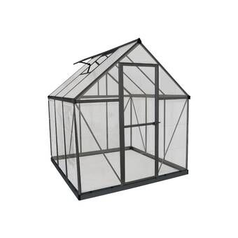 Hybrid 6 Ft W X 6 Ft D Greenhouse In 2020 Greenhouse Greenhouse Frame Home Greenhouse