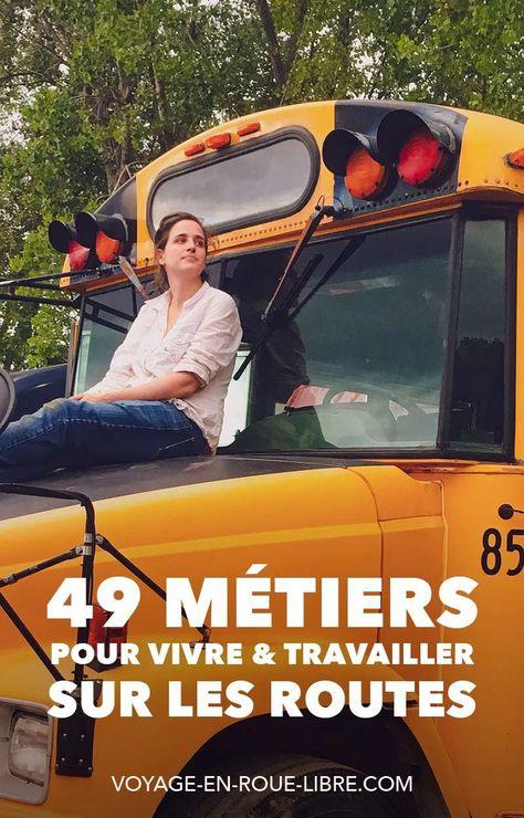 49 métiers pour vivre et travailler sur les routes