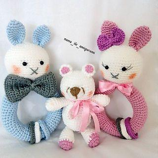 Ravelry: Cory the Giant Bunny pattern by Ilaria Caliri (aka airali) | 320x320