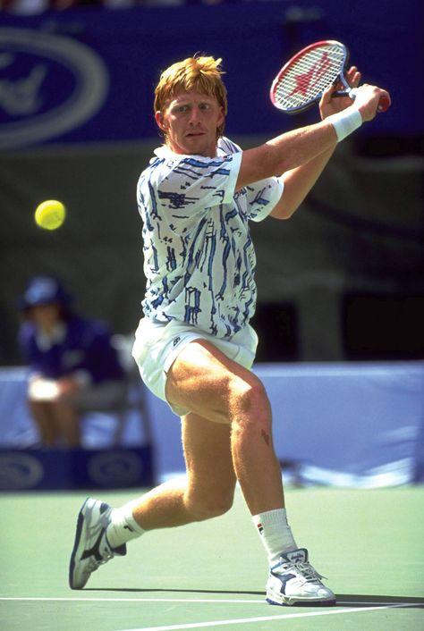 Boris Becker Gorra de b/éisbol Oficial de Wimbledon Tennis Legend para Adultos