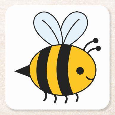 Black Yellow Bumble Bee Mojo Pillow Zazzle Com In 2021 Bumble Bee Cartoon Bee Drawing Bee Clipart