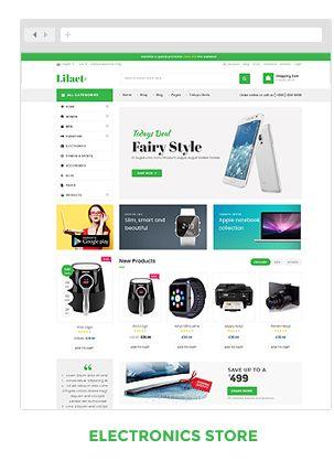 Lilac Fashion Responsive WordPress Woocommerce Theme Themes Plugin Blogger Business Card Free 2017 Pinterest