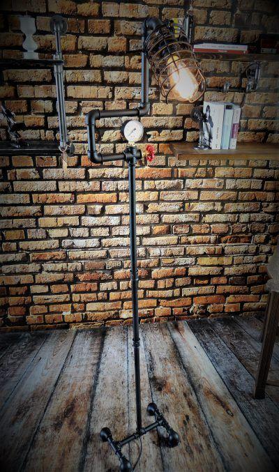 Lampa Stojaca Lampa Loft Pracownia Www Antiko Pl Lampy Lampa Podlogowa Industrial Design