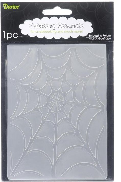Darice EFBG-768 Embossing Folder Background 5 by 7-Inch Scroll Flourish Corner
